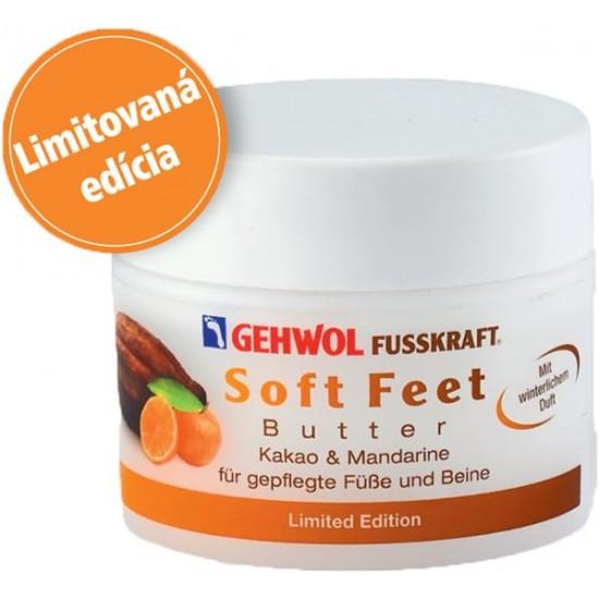 Soft Feet Maslo s kakaom a mandarínkou - LIMITOVANÁ EDÍCIA