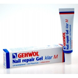 Nail repair gel, priesvitný M