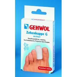 Ochrana špičiek prstov G, stredná