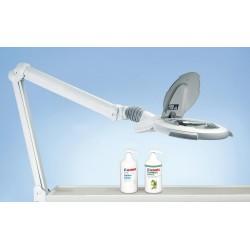 Zväčšovacie sklo s lampou Luxo CIRCUS LED